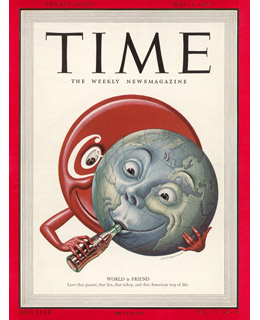 Coca-Cola Cover of Time, May 15, 1950